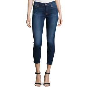 NWOT 7 For All Mankind Cropped Skinny Gwenevere